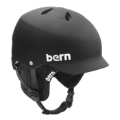 Bern Watts Audio Hard Hat, Matte Black-Audio Kit, medium
