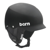 Bern Baker Knit Hard Hat, Matte Black-Black Knit, medium
