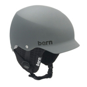 Bern Baker Knit Hard Hat, Matte Grey-Black Knit, medium