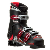 Roces Idea Adjustable Kids Ski Boots, Black, medium