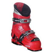 Roces Idea Adjustable Kids Ski Boots, Red, medium