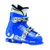 Roces Idea Adjustable Kids Ski Boots 2014, Blue, medium