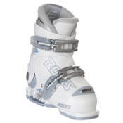 Roces Idea Adjustable Girls Ski Boots, White-Powder Blue, medium
