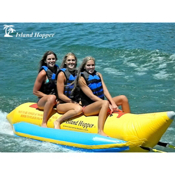 Island Hopper Recreational Banana Boat 3 Passenger Towable Tube, , medium