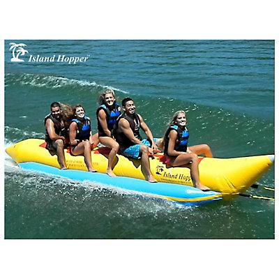 Island Hopper Recreational Banana Boat 5 Passenger Towable Tube, , viewer