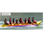 Island Hopper Commercial Banana Boat 8 Passenger Towable Tube, , medium