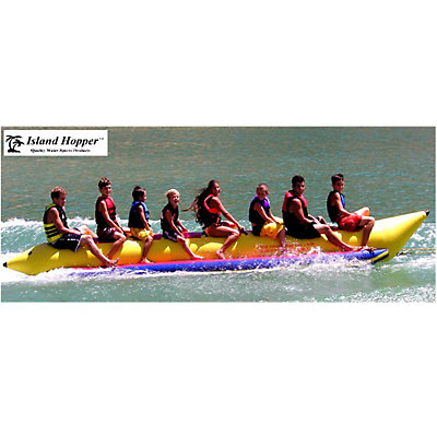 Island Hopper Commercial Banana Boat 8 Passenger Towable Tube, , viewer