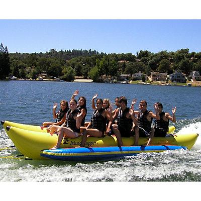 Island Hopper Commercial Banana Boat 10 Passenger Side-By-Side Towable Tube, , large