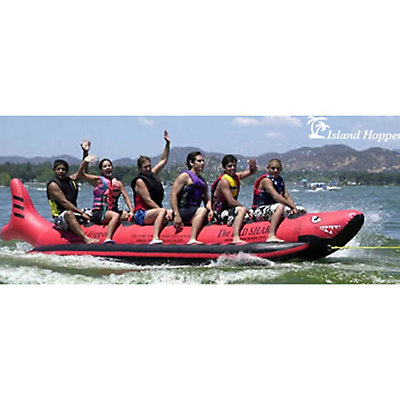 Island Hopper The Red Shark 6 Passenger Towable Tube, , viewer