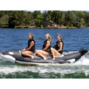 Island Hopper Whale Ride Banana Boat 3 Passenger Towable Tube, , medium