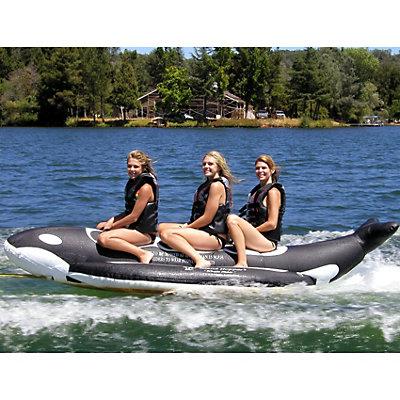 Island Hopper Whale Ride Banana Boat 3 Passenger Towable Tube, , viewer