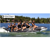 Island Hopper Whale Ride Commercial Banana Boat 6 Passenger Towable Tube, , medium