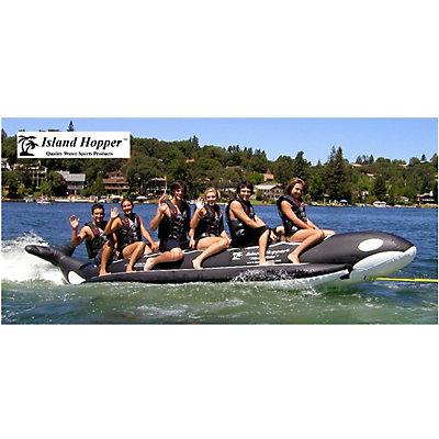 Island Hopper Whale Ride Commercial Banana Boat 6 Passenger Towable Tube, , viewer