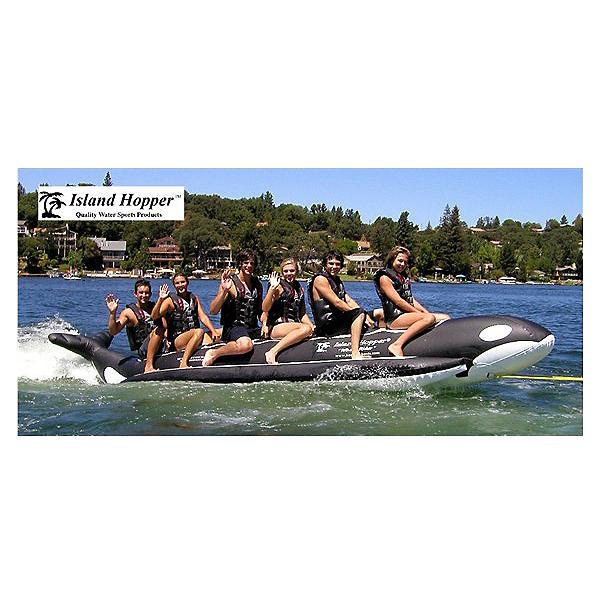 Island Hopper Whale Ride Commercial Banana Boat 6 Passenger Towable Tube 2017, , 600