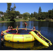 Island Hopper Giant Jump 25 Foot Water Trampoline 2014, , medium