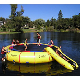 Island Hopper Giant Jump 25 Foot Water Trampoline 2017, , 256