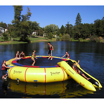 Island Hopper Giant Jump 25 Foot Water Trampoline 2016, , viewer
