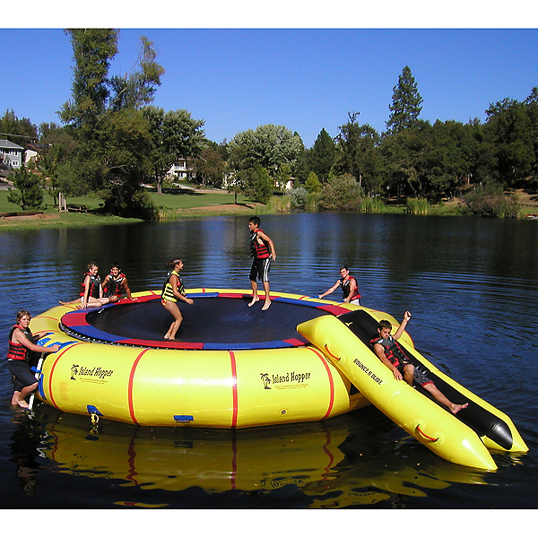 Island Hopper Giant Jump 25 Foot Water Trampoline 2017, , 600