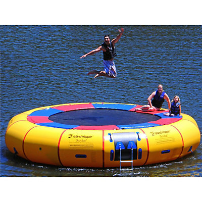 Island Hopper Acrobat 20 Foot Water Trampoline, , viewer