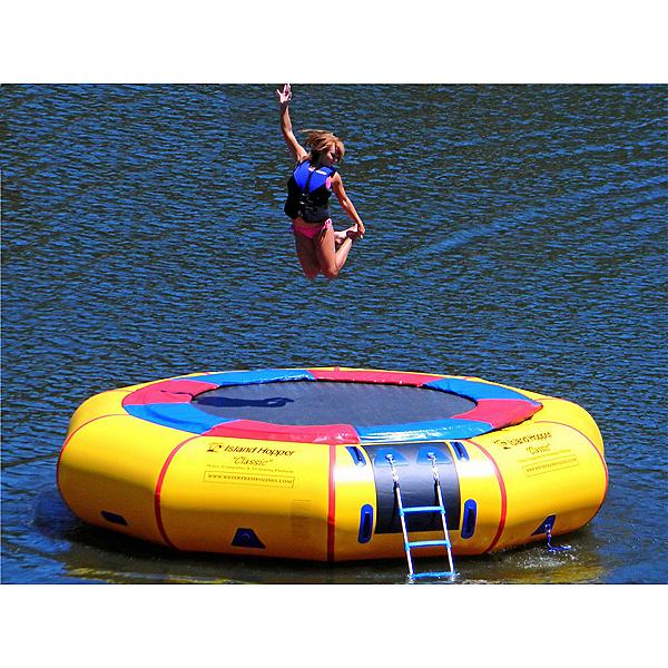 Island Hopper Classic 15 Foot Water Trampoline 2017, , 600