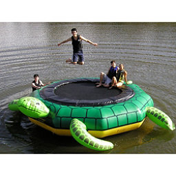 Island Hopper Turtle Jump 15 Foot Water Trampoline 2017, , 256