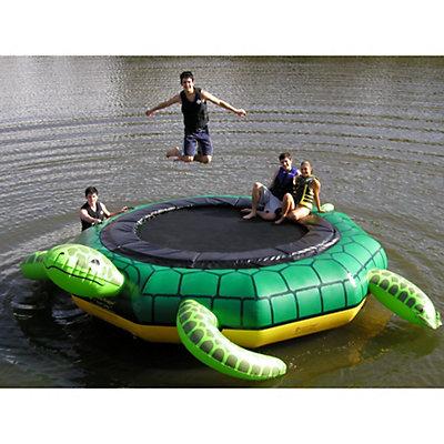 Island Hopper Turtle Jump 15 Foot Water Trampoline, , viewer