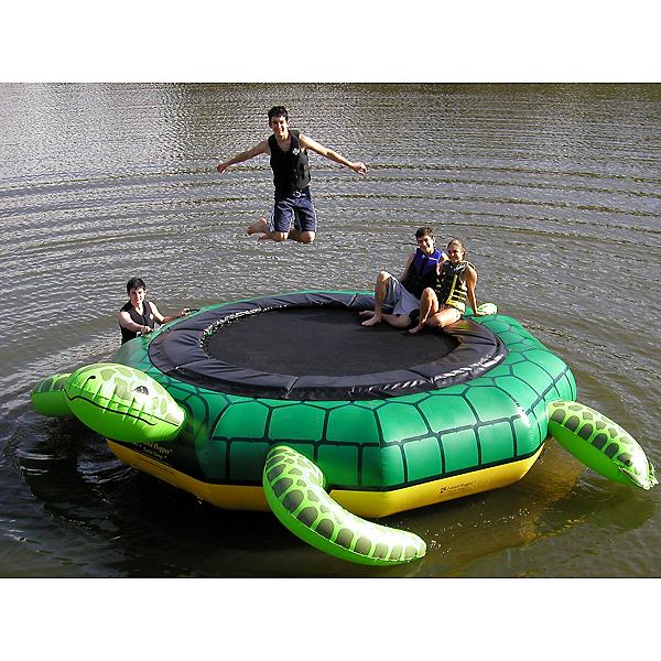 Island Hopper Turtle Jump 15 Foot Water Trampoline 2017, , 600