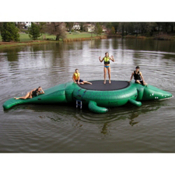 Island Hopper Gator 13 Foot with Slide Bounce Platform, , medium