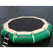Island Hopper Bounce and Splash 13 Foot Bounce Platform, Natural, medium