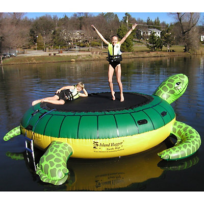 Island Hopper Turtle Hop 11 Foot Bounce Platform, , viewer