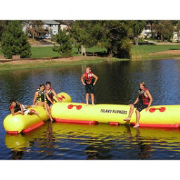Island Hopper Island Runner Water Trampoline Attachment 2017, , 256
