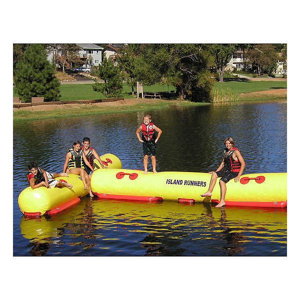 Island Hopper Island Runner Water Trampoline Attachment 2017, , 600