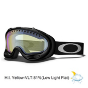 Oakley A Frame Goggles 2014, Jet Black-H.i. Yellow, medium