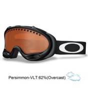 Oakley A Frame Goggles 2014, Jet Black-Persimmon, medium