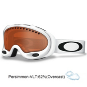 Oakley A Frame Goggles 2013, Matte White-Persimmon, medium