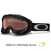 Oakley A Frame Goggles 2014, Jet Black-Vr28, medium