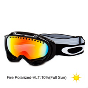 Oakley A Frame Polarized Goggles 2013, Jet Black-Fire Polarized, medium