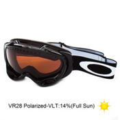 Oakley A Frame Polarized Goggles 2014, Jet Black-VR28 Polarized, medium