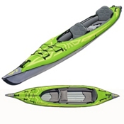 Advanced Elements AdvancedFrame Convertible Inflatable Kayak 2017, 15ft, medium