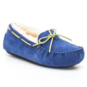 UGG Australia Dakota Girls Slippers, Deep Periwinkle, medium