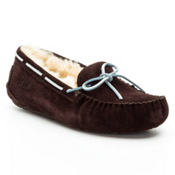 UGG Australia Dakota Girls Slippers, Espresso, medium