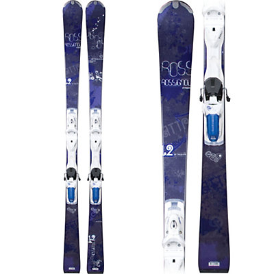 Rossignol Attraxion XII Womens Skis with Axial 2 120 Bindings, , large
