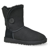 UGG Australia Bailey Button Womens Boots, Black, medium