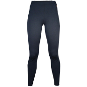 Hot Chillys Low Rise Womens Long Underwear Pants, Black, medium