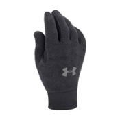 Under Armour Stretch Glove Liners, Black, medium