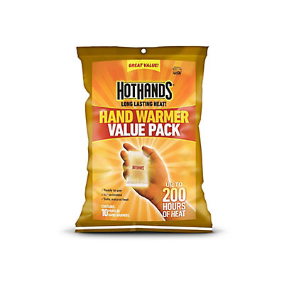 2 Hot Hands Hand Warmers 10 Pack, , large