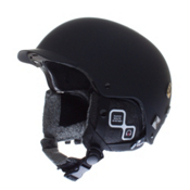 Salomon Brigade Audio Helmet 2013, Matte Black, medium