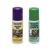Nikwax Aqueous Footwear Waterproof and Cleaning Kit, , medium