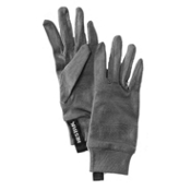 Hestra Merino Wool Glove Liners, Dark Grey, medium