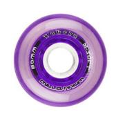 Labeda Gripper Millennium Inline Hockey Skate Wheels - 4 Pack, Clear-Purple, medium